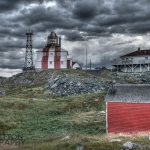 Bonavista Point Lighthouse HDR Newfoundland