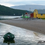 Norris Point Green Boat