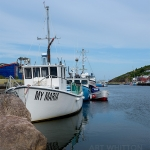 Petty Harbour Newfoundland - Fishing boat 01