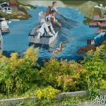 Petty Harbour Newfoundland - 02 mural