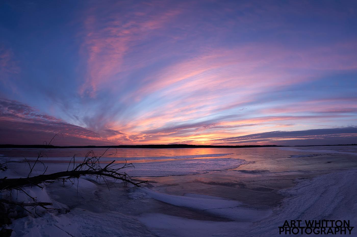 lovewell-sunset