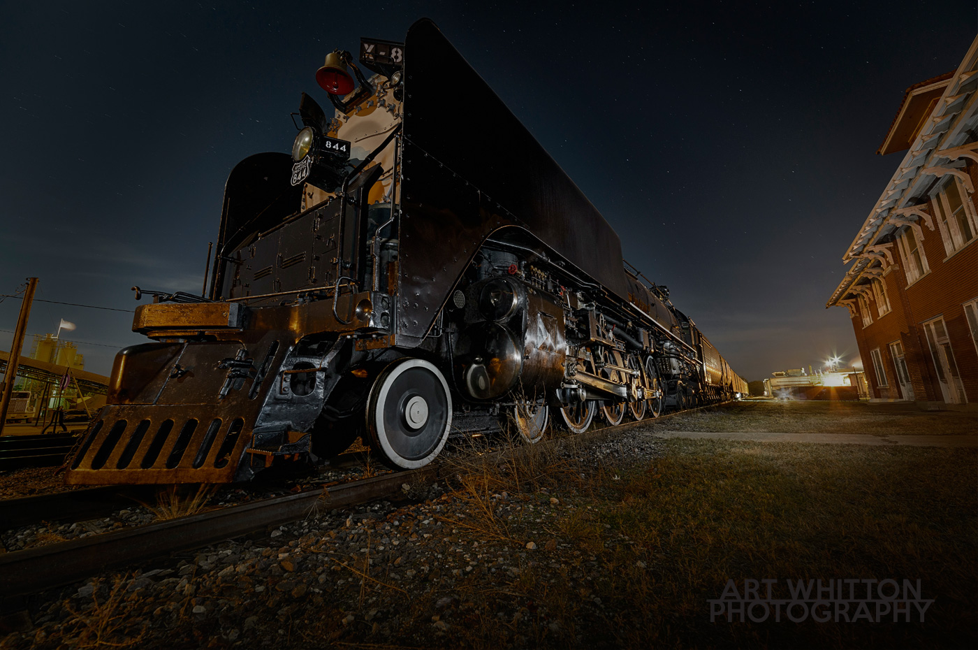 up-844-steam-engine-at-night