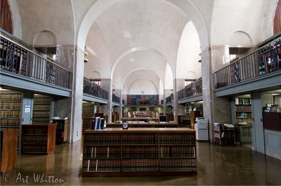 Nebraska state capitol building library