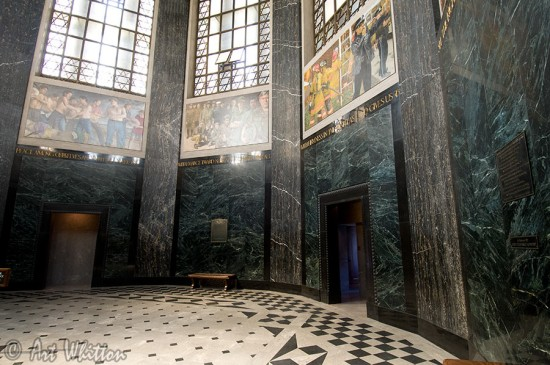 Nebraska state capitol building Memorial Chamber