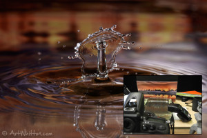 Water Drop Photography - Photo Background