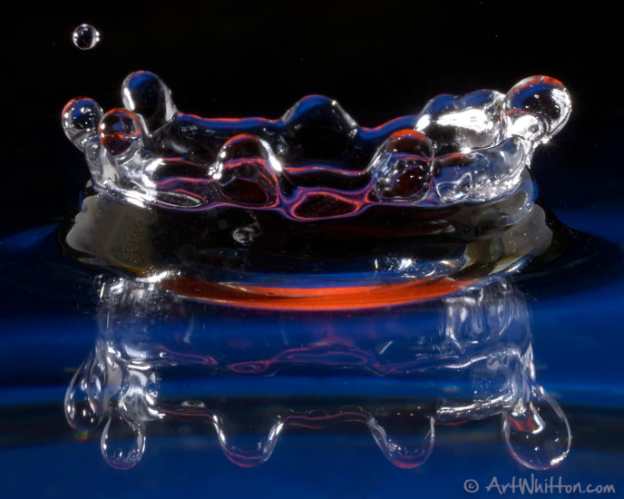Photographying Water Drops - by Art Whitton