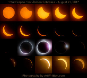 Solar Eclipse Photo for sale by Art Whitton Photography