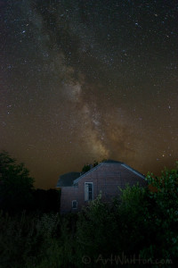 Lamb School and the Milky Way