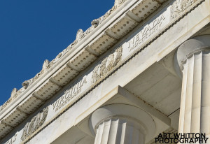 Lincoln Memorial Roofline Detail