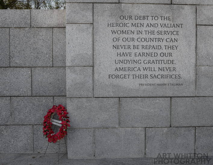 WW2 Memorial wreath