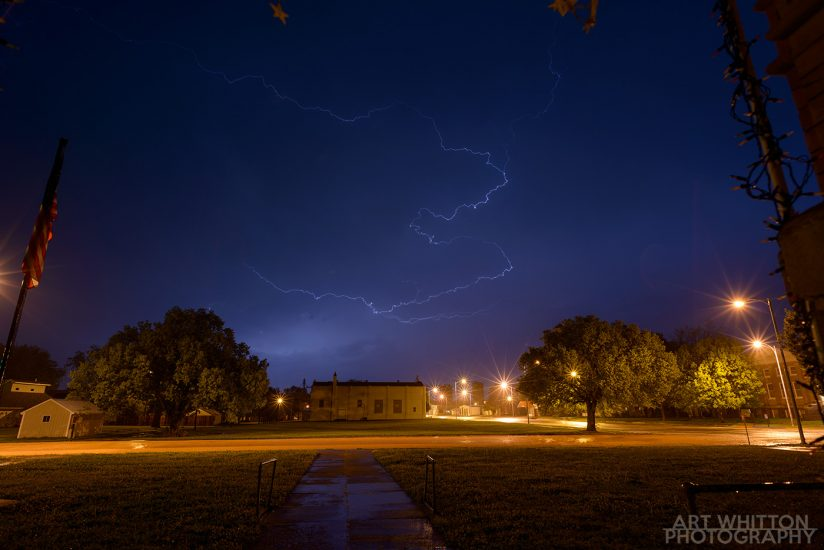 how to shoot lightning in nebraska