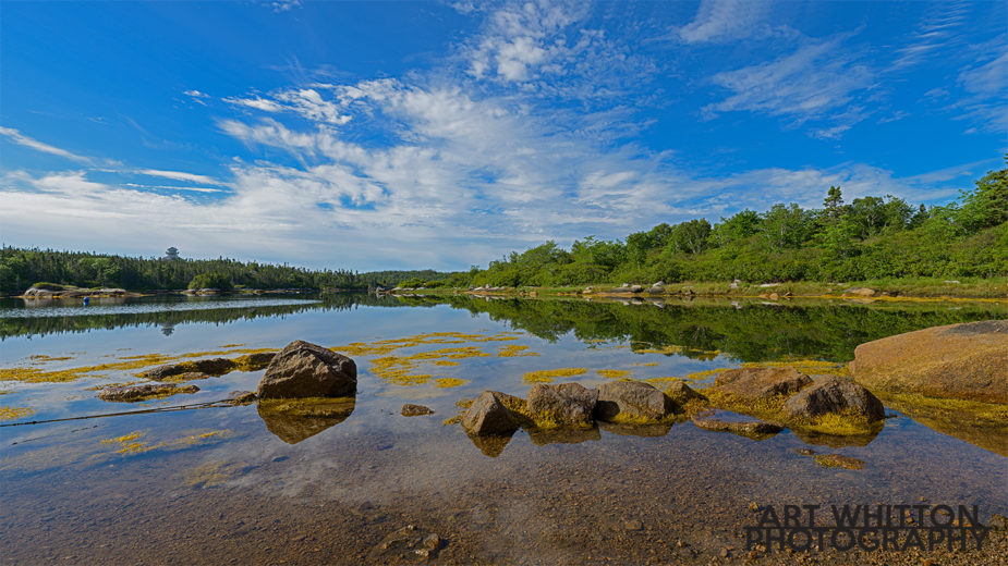 Nova Scotia Photography Near Black Duck Run Nova Scotia panorama Prospect Rd