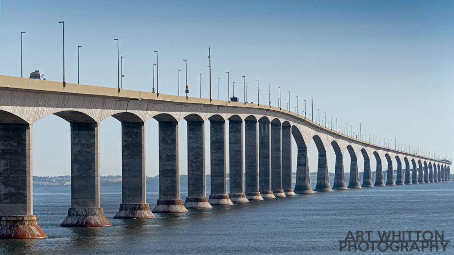 Confederation Bridge PEI from New Brunswick