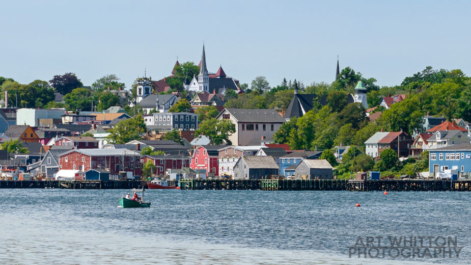 Lunenburg Nova Scotia Waterfront