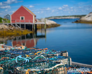 Nova Scotia Photography Peggys Cove Nova Scotia Nets 01