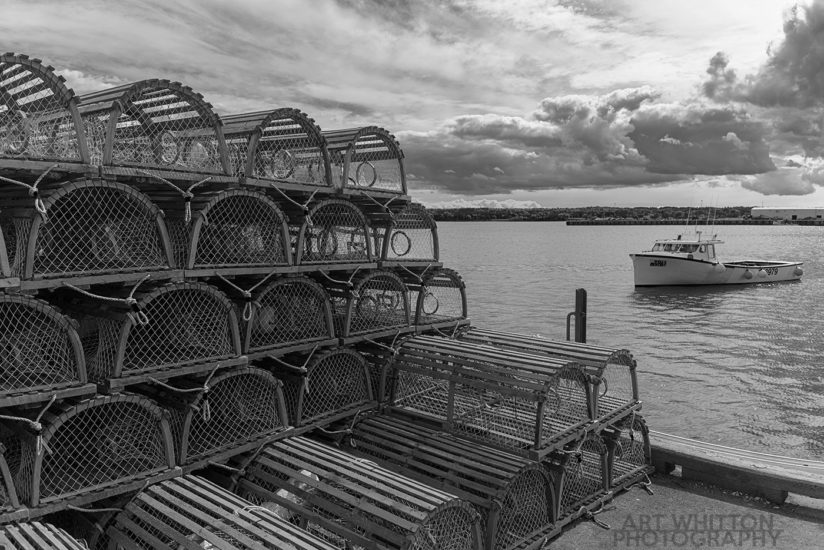 Lobster Traps in Georgetown PEI