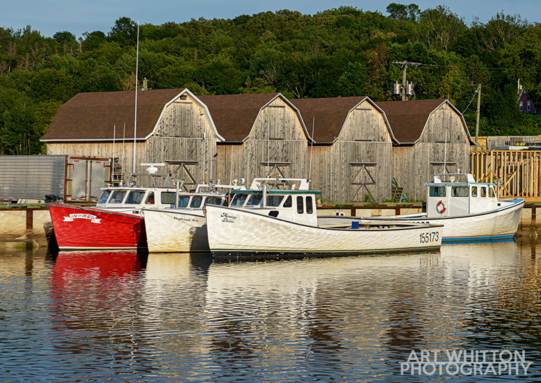 Montague PEI fishing boats