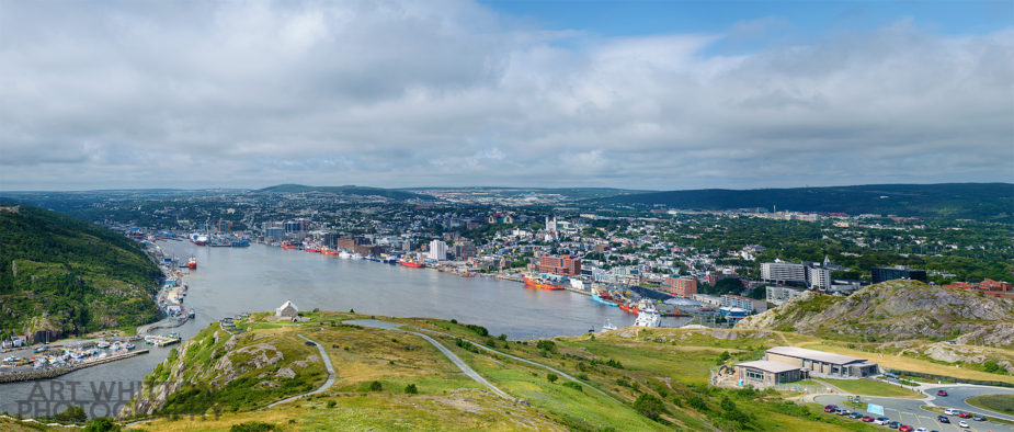View of St John's Harbour from Signal Hill