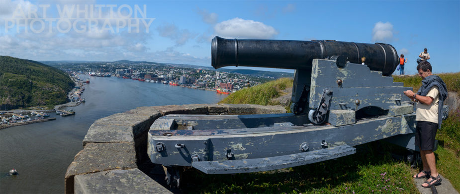 Cannons on Signal Hill - St John's Newfoundland