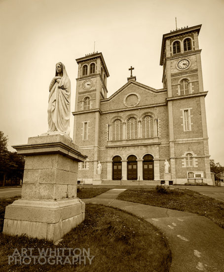 Basilica of St John the Baptist - St John's Newfoundland Photography