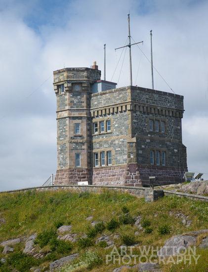 Cabot Tower - Signal Hill - St John's Newfoundland