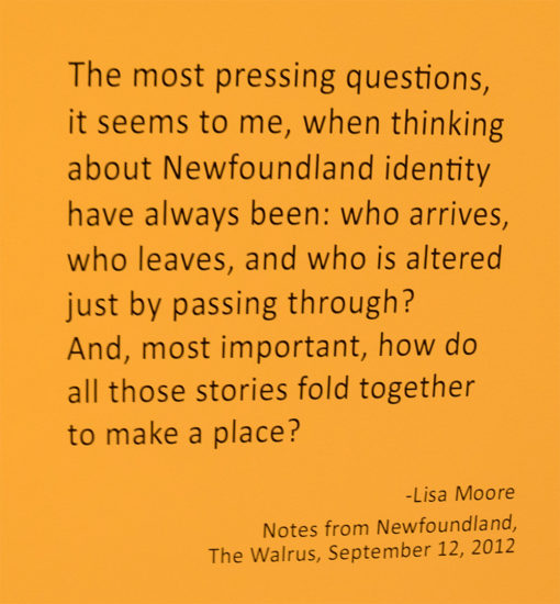 Lisa Moore Newfoundland Quote