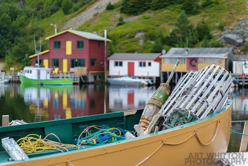 Quidi Vidi Harbour - St John's Newfoundland