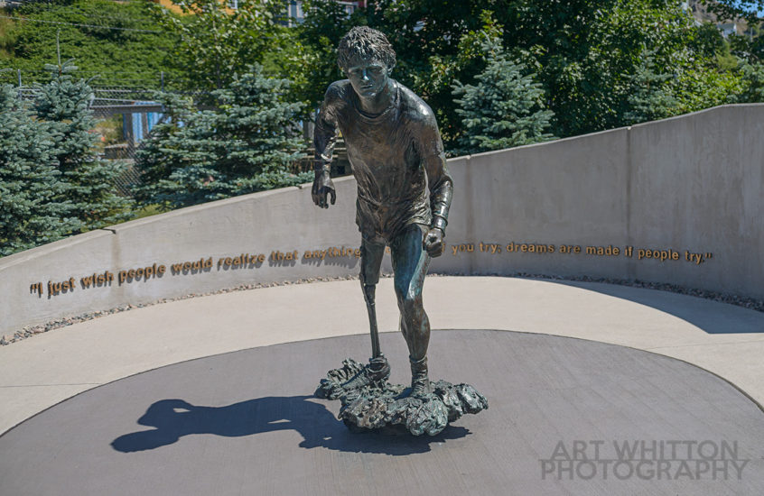 Terry Fox Monument - St John's Newfoundland