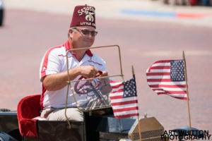 Small Town America - Shriner in Parade
