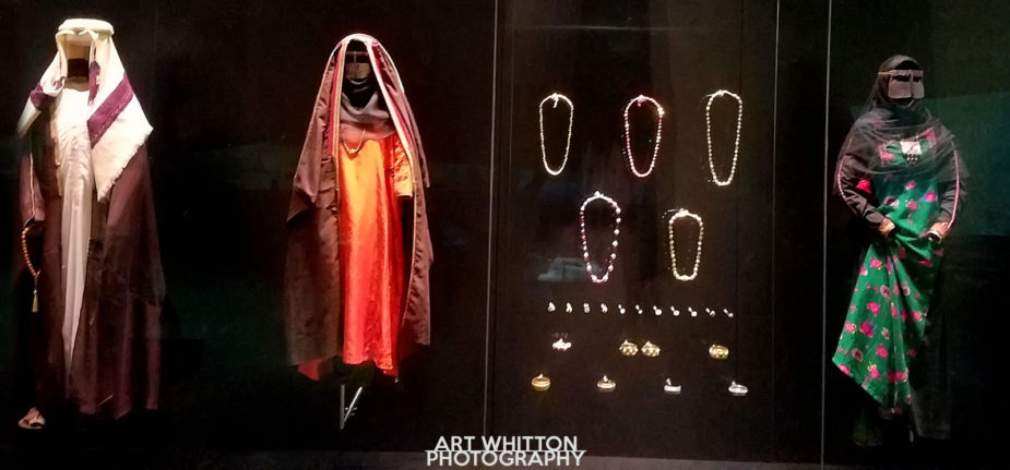National Museum of Qatar - Doha - traditional dress
