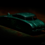 Green Future Car Angled