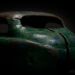 Old Green Coupe