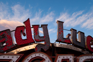 Lady Luck sign
