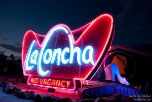 La Concha Sign