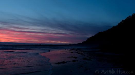 Big Basin Beach Sunset