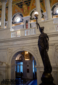 Library of Congress Statue