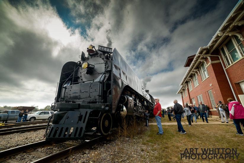 UP 844 at Rock Island Depot Fairbury Nebraska 2