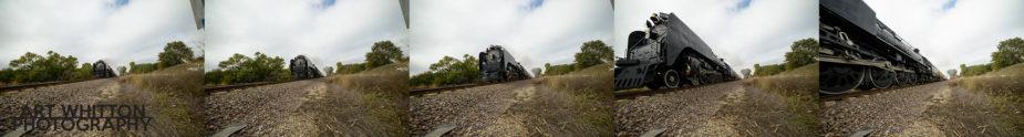 UP 844 near Fairbury Nebraska sequence
