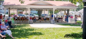 Small Town America - World's Largest Porch Swing in Hebron NE