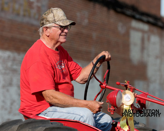 County Fair Photography - Old tractor