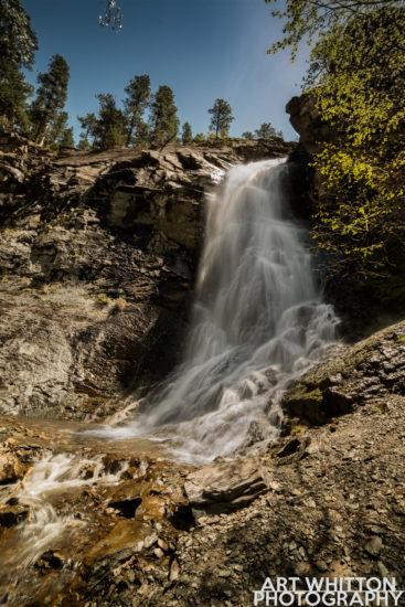 Spearfish Canyon, Bridal Veil Falls Photo by Art Whitton