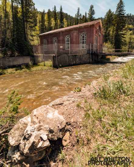 Spearfish Canyon Highway - Hydroelectric Plan