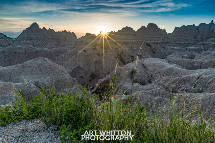 Photographing Badlands National Park Fossil Exhibit