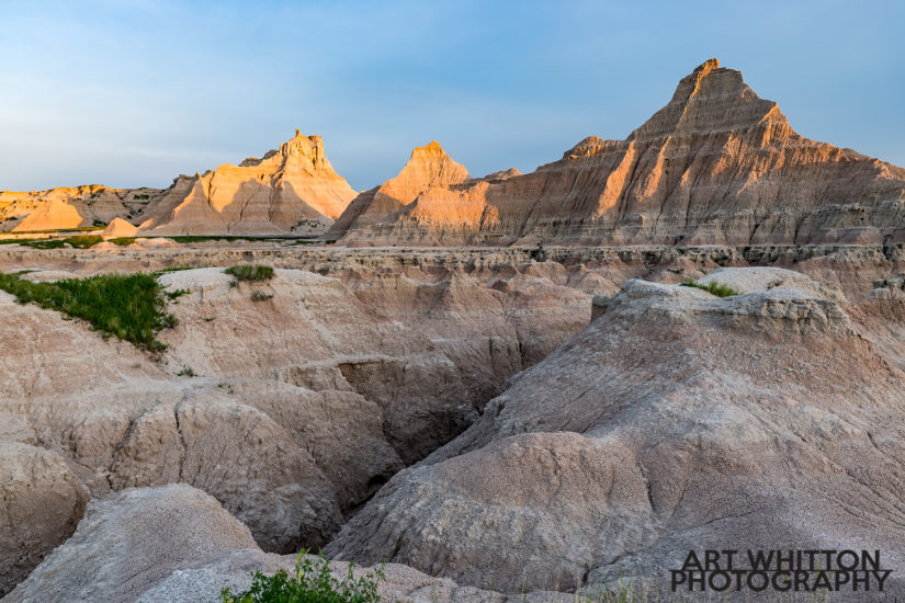 Photographing Badlands National Park Fossil Exhibit East