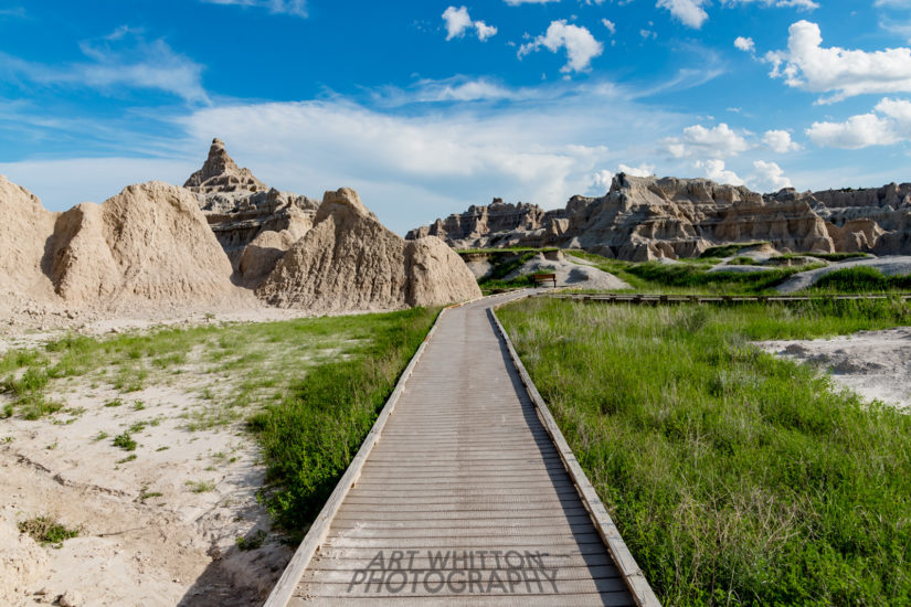 Photographing Badlands National Park Window Trail