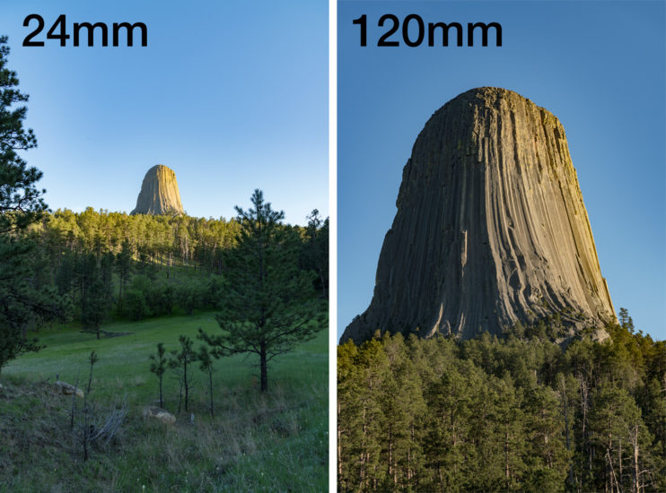 Devils Tower Photography - Lens Selection